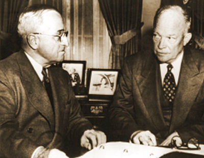 a comparison between the administration of harry s truman and dwight d eisenhower